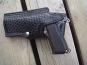 TEX SHOEMAKER AND SONS Accessories BLACK BASKETWEAVE HOLSTER, RIGHT HAND